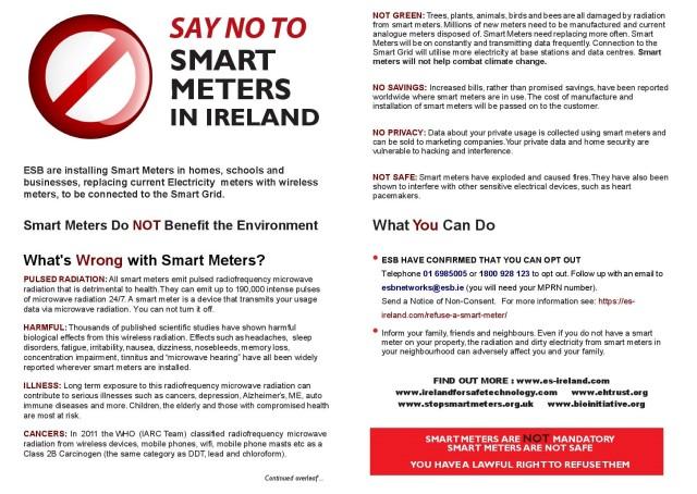 Smart Meter ESB leaflet